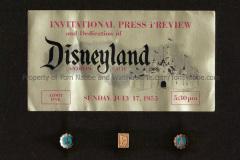 Tom's Press Preview Ticket from July  17, 1955